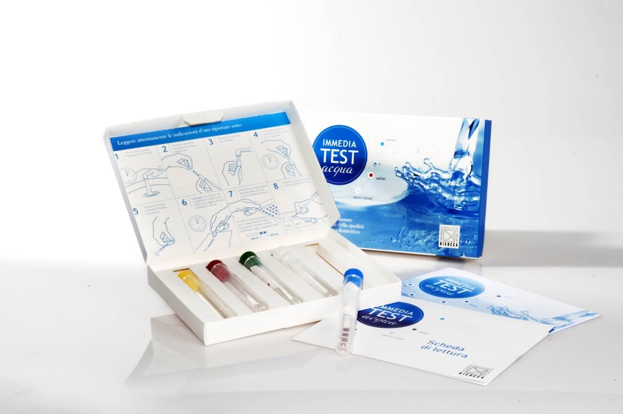 test acqua immediato