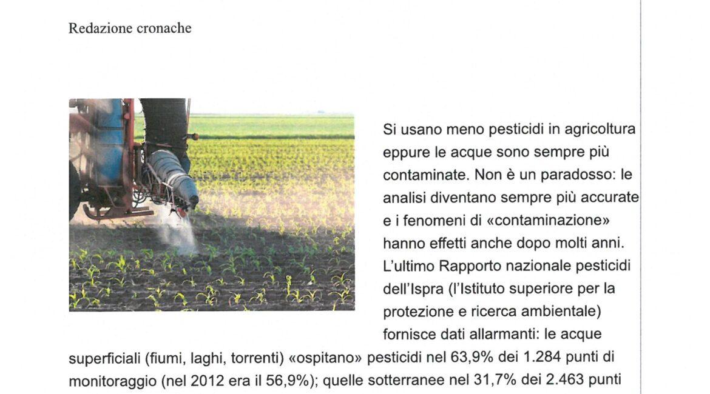 acque italiane e pesticidi 1