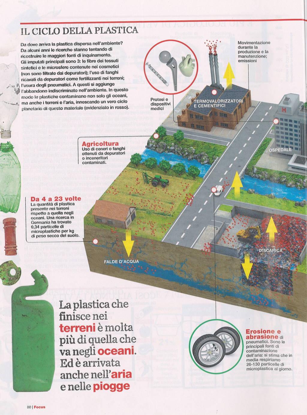 Inquinamento plastica focus 6