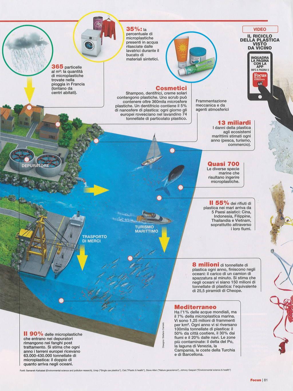 Inquinamento plastica focus 7