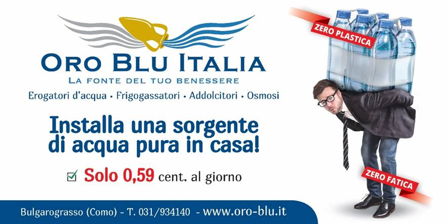 oro blu italia depuratori in assegnazione