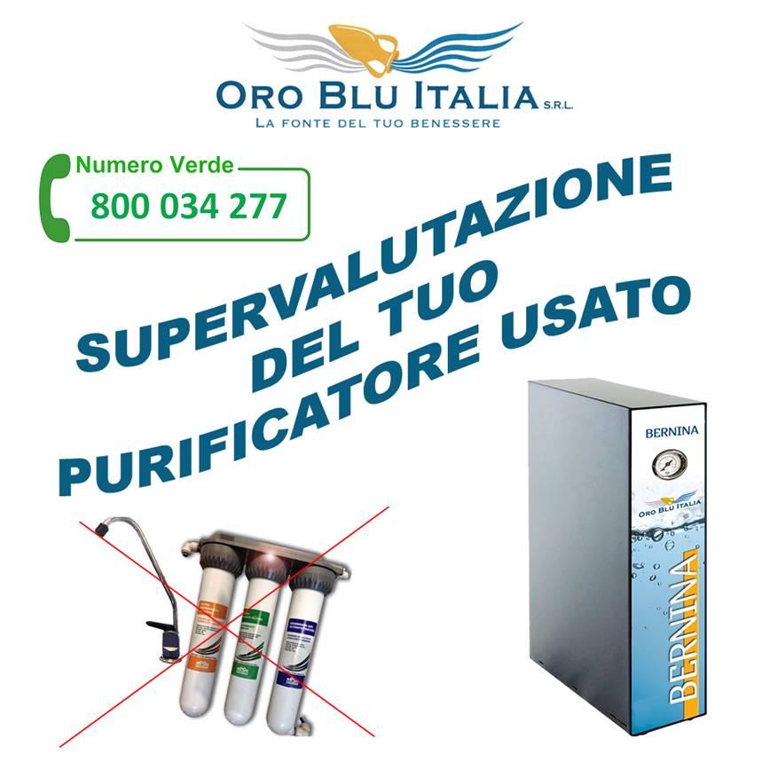 oro blu italia supervalutazione usato