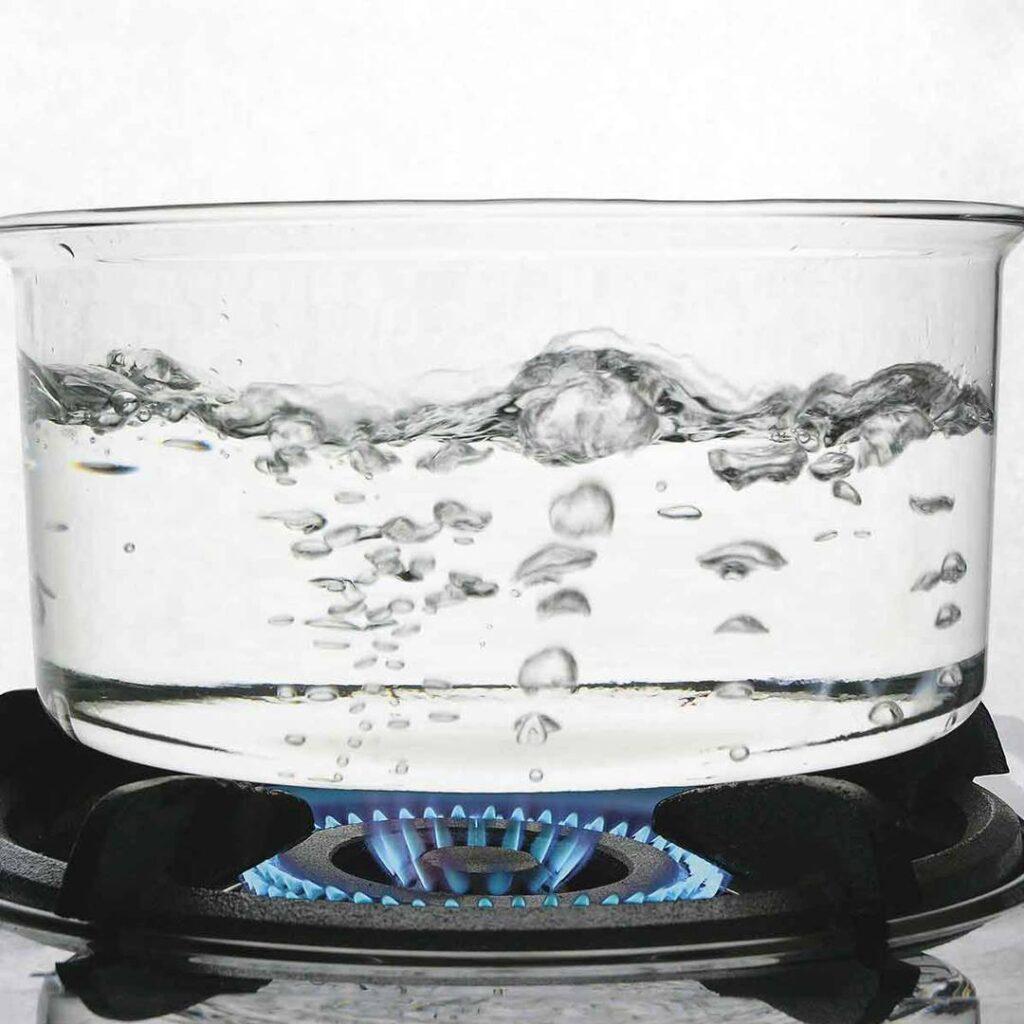 acqua bollita non vuol dire pura