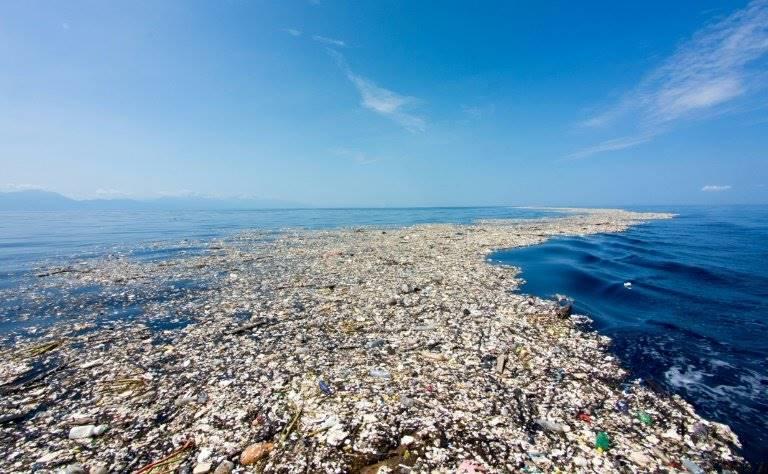 pacific trash vortex - isola di plastica